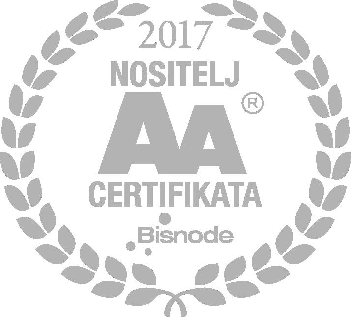 insepo d.o.o. četvrtu godinu zaredom u skupini svega 5% najboljih poslovnih subjekata u Republici Hrvatskoj